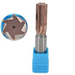 CNC マシンリーマ加工 6 ストレート溝カーバイドリーマを製造