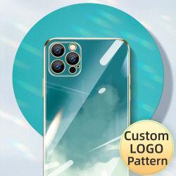 La galvanoplastie colorés semi, mode Smart Mobile Cell Phone Étui pour iPhone 11/12/11PRO/12PRO/11PRO Max//12PRO Max, OEM Custom prix bon marché
