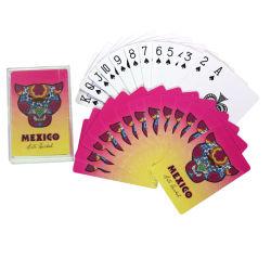 Kundenspezifisches Drucken-farbenreicher Schürhaken kardiert Flash-Speicher-Kartenspiel-Spielkarten für Kinder