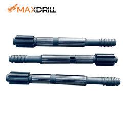 Maxdrill T45 600 mm シャンクアダプタねじ山ドリルパイプドリルロッド Hl710 用の採掘機械部品
