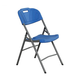 Blue Cheap Outdoor Used Metal Conference Wedding Wholesale Folding Chair