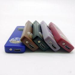 Hot Sale design tendance en matière plastique RECHARGEABLE USB Windproof empreinte électronique de la fumée de cigarette plus léger à prix compétitif