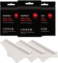 Multi-Use-Brille Tuch Branded Brillen Reiniger Wildleder Mikrofaser Anti-Fog Für Objektiv