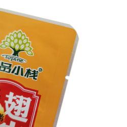 De nylon Plastic Verpakkende Zak van de Verbinding van het Voedsel Vavuum drie-Zij voor Vlees