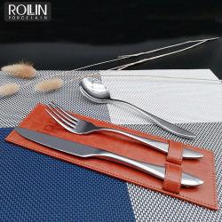 Couteau à dessert cuillère à dessert et un Dessert pour l'Hôtel et restaurant de la fourche