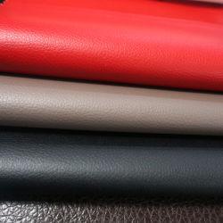 Guangzhou PU PVC pour les meubles canapé en cuir artificiel, fabricant de coiffe de siège de voiture