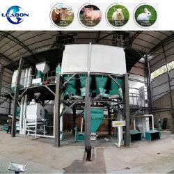 3-5t/h las aves de corral Pollos peletizadora de animales de la máquina de procesamiento de alimentación de ganado ovino Alfafa Máquina de prensa de pellet Feed