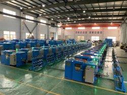 Conserves de fil, câble isolé électrique sur le fil de bobinage en plastique de tordre le groupage empileuse Extrusion Machine de l'extrudeuse