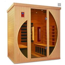 4 Pessoa personalizados Home Use Longe Sauna de Infravermelhos House, Sauna Ajuste Sauna