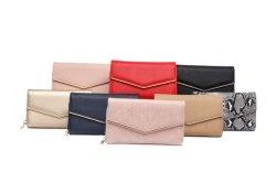 2021人の方法長い女性PUの革札入れの女性財布の女性は札入れが女性のために10-12 PCSを卸し売りするクラッチの販売法である場合もある