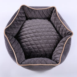 Le Pet lit en velours doux et coloré lit confortable