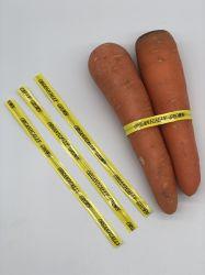多重カラー野菜分類のねじれタイ、パッキングのためのペーパーねじれタイ