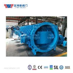 قاعدة الإنتاج الاحترافية لإزاحة شفة الحديد الدوقية عن التركيز صمام الصرف الصحي / الماء الفراشة