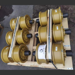 Caterpillar Bulldozer 차대 부품 Cat D10n Dozer ITR ITM KK 캐리어 상단 롤러, 한국에서 제작된 중부하 작업용 상부 롤러