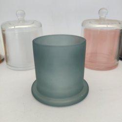 الأكثر شعبية الفاخرة كاندل جارس بيل على شكل قباب شمعة الزجاج دورق كلوتشي
