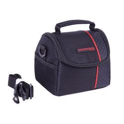 600d полиэстер Водонепроницаемая и противоударная зеркальную фотокамеру объектив сумка небольшого размера сумка для фотокамер OEM этикеток компактная черная сумка для фотокамер Чехол для фотокамер аксессуары