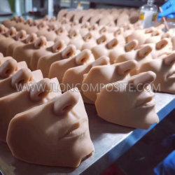 Silikon-Gummi für die Körperteile bildend prothetisch/die Ohr-/Schablonen-Herstellung