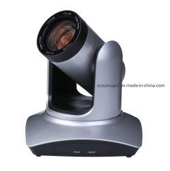 교회 비디오 컨퍼런스 라이브를 위한 PTZ 12/20X 줌 1080p HD HDMI 호환 SDI를 통해 Telemedicine Pan-Tilt CCTV PTZ 카메라를 스트리밍합니다 IP RJ45 및 USB