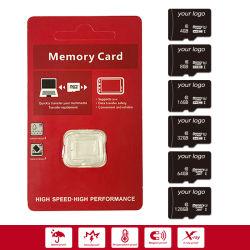 工場パッケージが付いている移動式TFのカードのための元のマイクロ実質容量64GB 32GBのクラス10の速度のメモリ・カード
