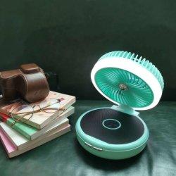 Новые Bluetooth громкоговоритель вентилятор многофункциональный беспроводной мини-динамики с светодиодный индикатор аккумулятор портативного электровентилятора системы охлаждения двигателя