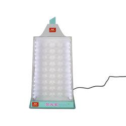 بلاستيك شفّاف صينيّة أكريليكيّ لأنّ قليات أكريليكيّ صندوق لأنّ قرطاسيّة [ديسبلي رك] أكريليكيّ مع [لد] ضوء