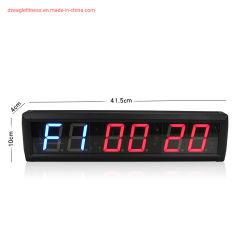 ホームエクササイズフィットネススポーツカウントダウンタイマージム LED 6 デジタル タイマー