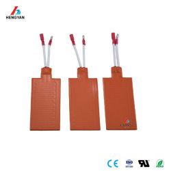 Vela de borracha de silicone Correia aquecimento 3V-380V personalizado com marcação CE Tapete de calor