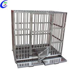 Consultorio veterinario de animales de compañía de acero inoxidable de la jaula de animales portadores de Pet