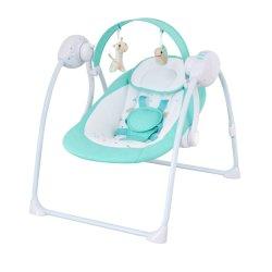 Портативный автоматический баланс Bouncer мягкой детской Deluxe стул малыша Bouncer поворотного механизма