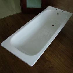Bañera de acero esmaltado con agujero de grifo