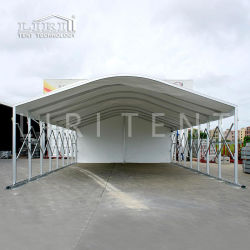 Для использования вне помещений портативный складной крыше дуги складной навеса туннеля Палатка для ресторана