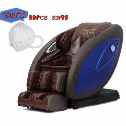 4D Intelligent cadeira de massagens Wireless Bluetooth Corpo automática detecção Zero Gravity Terapia de aquecimento SL-tipo trilho Super-Long Massagem Kd-8800A PRETA/bege/Rosa