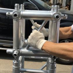 Esquina de la armadura de aleación de aluminio de la armadura de la espita de Multi Plaza cubo para el sistema de la armadura de la cercha columna pilar