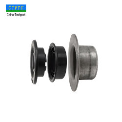Tkiiのタイプ鋼管の軸受ハウジングのエンドキャップ