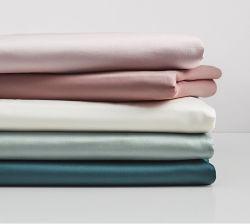 قماش من القطن الصلب لأغطية الأسرة الموجودة في العطوف 100s 500 tc 200*100