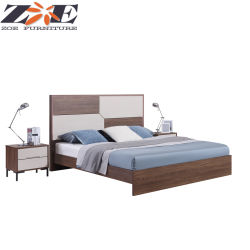 MDF baratos modernos muebles de dormitorio cama King Size