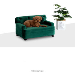 Pet sólidos de madeira #sofá que adequada para grandes cães 0130