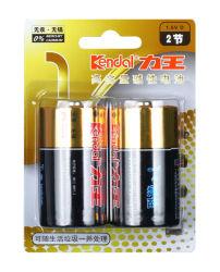 Batterie-Angebot Soem-Dienstleistungen der China-Fertigung-D alkalische der Größen-Lr20