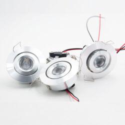 مصباح إضاءة LED صغير مع مصباح مطبخ بجهد 12 فولت وقدرة 24 فولت، CREE بقدرة 3 واط