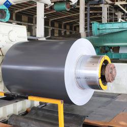 Couleur RAL 7016/8017 bobine en aluminium à revêtement de toit de métal