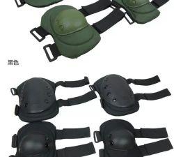 2016 rilievi di alta qualità d'escursione esterni militari tattici di nylon di Knee&Elbow di uso di sport di alta qualità antiquata