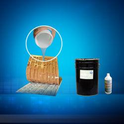 1: 1 cura de platina em borracha de silicone RTV para fundição de cimento