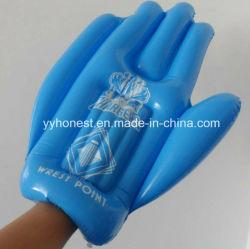PVC PVC gigante do lado da almofada insuflável dedos insufláveis 5 dedos