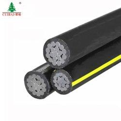 Obenliegendes Aluminium der Fabrik-10kv/Legierungs-Leiter-Stahl verstärkten XLPE Isolierluftbündel-Kabel AAC/AAAC/ACSR für Kraftübertragung-Zeile