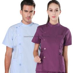 Il dottore Uniforms per l'infermiera dell'ospedale frega il breve manicotto Tops+Pants degli insiemi