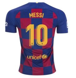 Pullover di Barcellona 10 camice 19/20 di gioco del calcio del pullover di calcio di Lionel Messi