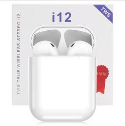 Tws I12 Bt5.0 sem fio chamada dupla auriculares auscultadores auriculares Android para iPhone com o Pop up