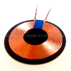 Le Qi bobine de charge sans fil récepteur sans fil inducteur de bobine de chargeur