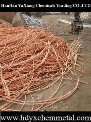 Desperdícios de fios de cobre 99,99% na China de sucata de cobre