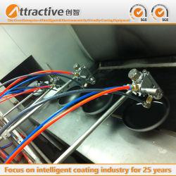 Catena di montaggio d'anodizzazione popolare della macchina della verniciatura a spruzzo della strumentazione del rivestimento della Francia per la fabbricazione di articolo da cucina